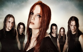 Picture group, metal, metal, gothic, band, sympho, epica, Gothic, Yves Huts, Isaac Delahaye, Simone Simons, symphonic, …