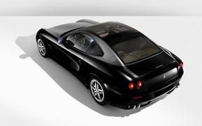 Picture black, Auto, ferrari 612