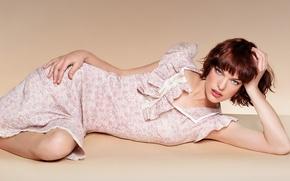 Picture girl, model, actress, Milla Jovovich, Milla Jovovich