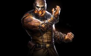 Picture Look, Mask, Ninja, Scorpio, DLC, Equipment, Warner Bros. Interactive Entertainment, NetherRealm Studios, Mortal Kombat X