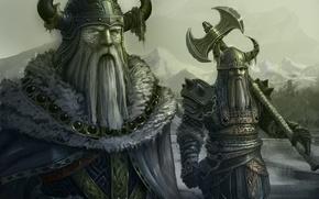 Wallpaper war, the Vikings, Scandinavia., the Vikings