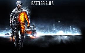 Picture Soldiers, Fighter, Tanks, Battlefield 3, Battlefield