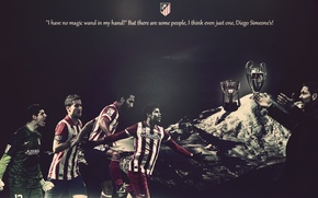 Picture wallpaper, football, Spain, Atletico Madrid