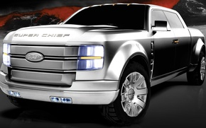 Picture Ford, SUV, pickup, superchief
