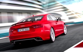 Picture Audi, Red, Audi, Machine, RS5