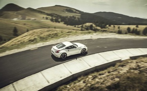 Picture road, hills, Nissan, 370Z