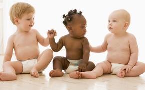 Picture children, kids, Negro, distinguished