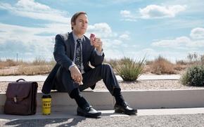Wallpaper Better call Saul!, costume, Better Call Saul, Bob Odenkirk, TV Series, Bob Odenkirk, portfolio, road, ...