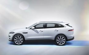 Picture Jaguar, Jaguar, side, 2015, F-Pace S