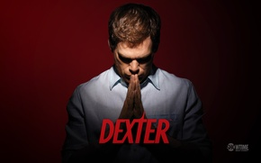 Picture the film, Dexter, the series, Dexter, detective