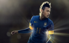 Picture Sport, Football, Form, Brazil, Santos, Nike, Neymar, NIKE, Neymar da Silva Santos Junior, Santos Futebol …
