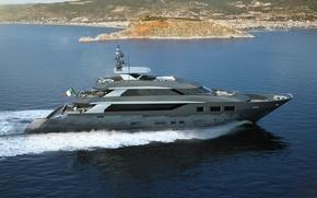 Picture Tecnomar, superyacht, swim 47