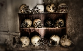 Picture football, helmets, superbowl