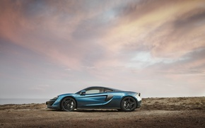 Picture car, auto, the sky, McLaren, wallpaper, side view, 570GT