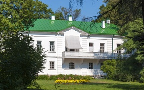Picture summer, The House Of L. N. Tolstoy, Yasnaya Polyana