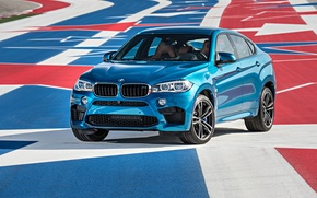 Picture car, BMW, X6 M, 2016