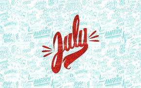 Wallpaper summer, america, July, july