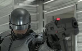 Picture fiction, helmet, action, Robocop, RoboCop, Joel Kinnaman