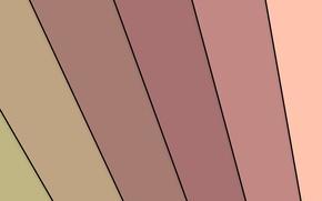 Picture strip, pink, design, beige, color, material-