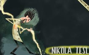 Picture Tesla, rockstar, scientist, Nikola