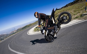 Picture KTM, tales of the road, motorcycles 1920x1200, 690 Duke, tricks