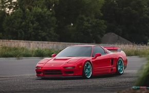 Picture before, red, wheels, honda, red, japan, Honda, jdm, tuning, front, face, acura, nsx, vtec