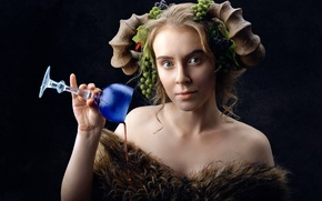 Picture girl, emotion, Performance, Lena Korovashkina