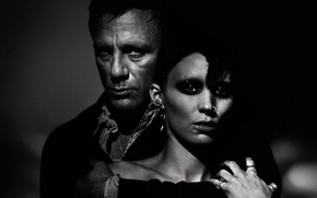 Picture evil, detective, Thriller, The Girl with the Dragon Tattoo, Lisbeth Salander, The girl with the …