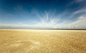 Picture sand, beach, the sky