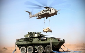 Picture helicopter, Hummer, military, war machine, transport, heavy, shipping, Super Stallion, CH-53E
