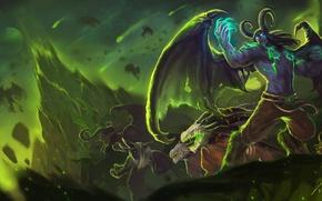 Picture the demon, WoW, World of Warcraft, Legion, demon hunter, Demon Hunter