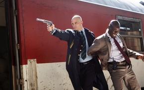 Wallpaper gun, the situation, frame, costume, tie, Hitman, killer, coat, killer, muffler, Hitman, Agent 47, Timothy ...