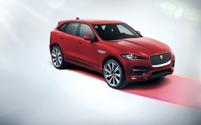 Picture Jaguar, Jaguar, crossover, 2016, F-Pace, R-Sport