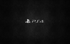Picture PS4, playstation, texture, logo, background