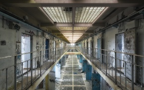 Wallpaper interior, camera, prison