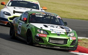 Picture race, tuning, Mazda, track, aston martin, Mazda, miata, GT4, MX-5