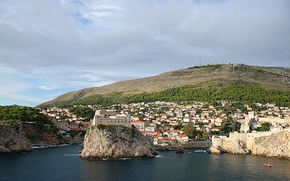 Picture sea, landscape, home, Croatia, Dubrovnik