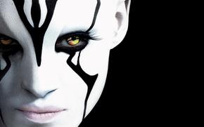 Picture cinema, ufo, wallpaper, girl, Star Trek, woman, eyes, man, movie, lips, face, blonde, film, warrior, …