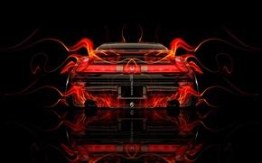 Picture Black, Fire, Style, Wallpaper, Background, Honda, Orange, Honda, Car, Fire, Photoshop, Photoshop, Abstract, Black, Style, …