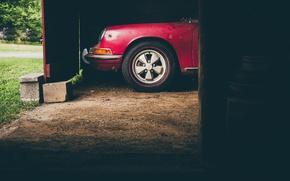 Picture car, Porsche, red, Energo5, 911S