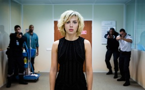 Picture fiction, Scarlett Johansson, action, Lucy