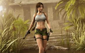 Picture sexy, lara croft, tomb raider, shorts