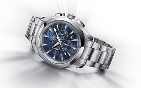 "Picture watch, ""London 2012"", Chronograph, OMEGA, Seamaster Aqua Terra Co-Axial"
