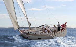 Picture sport, yacht, Denmark, test, edit X-Yachts, team test, sail the Next Ge
