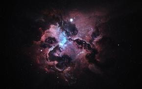 Picture space, atlantis nexus nebula, Starkiteckt