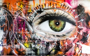 Picture eyes, figure, color