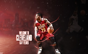 Picture basketball, nba, kay fields, cleveland, cavaliers
