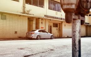 Picture Lexus, wheels, black, metallic, Lexus, vossen, IS250