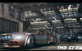 Picture garage, Race, ford, the crew, GT-500
