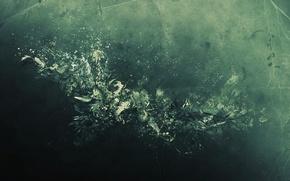 Wallpaper form, light, texture, abstraction, bending, line